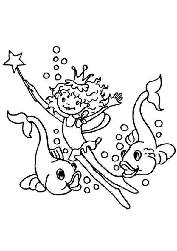 Ausmalbilder Prinzessin Lillifee 7