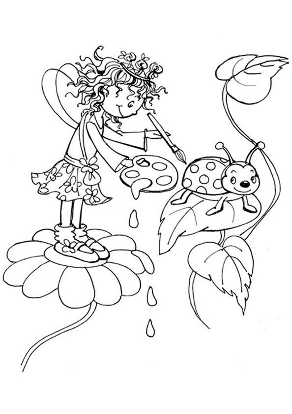 Ausmalbilder Prinzessin Lillifee 8