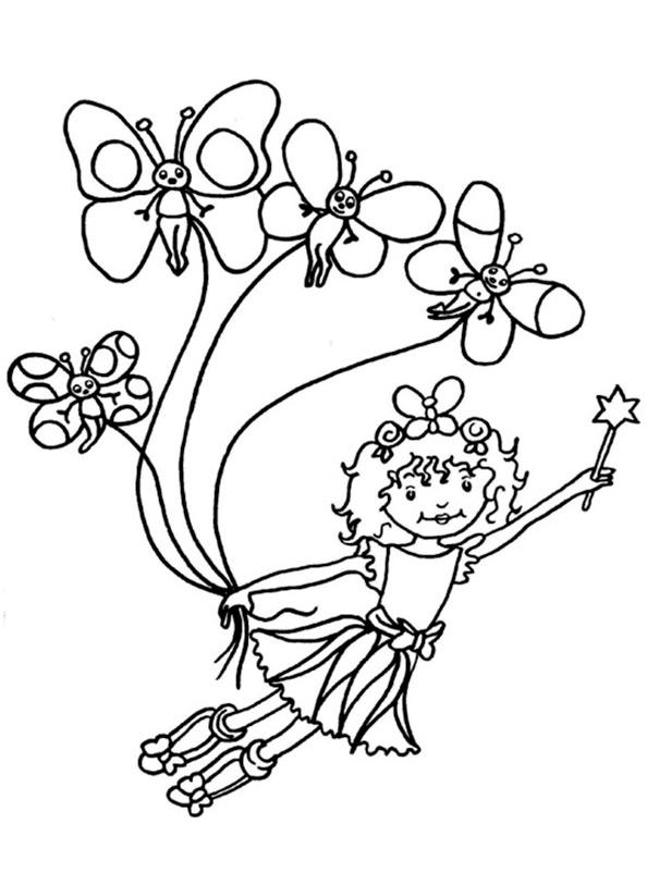 Lillifee 9 Ausmalen