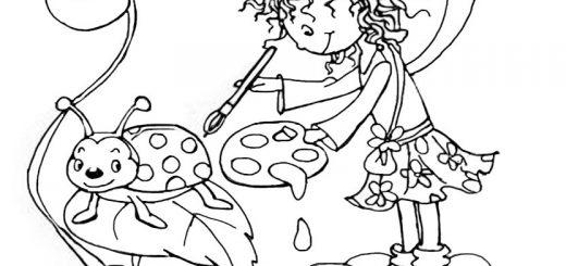 Ausmalbilder Prinzessin Lillifee 11
