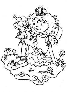 Ausmalbilder Prinzessin Lillifee 13